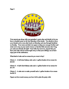 Ultimate Birthday Party:  A Spend Your Money Wisely Book