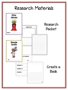 Ultimate Black History Pack - Lapbooks, Research Book, Writing Folders & More