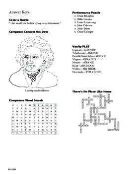 Ultimate Book of Music Mazes and Puzzles - Composers