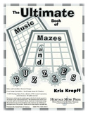 Ultimate Book of Music Mazes and Puzzles - Instruments and