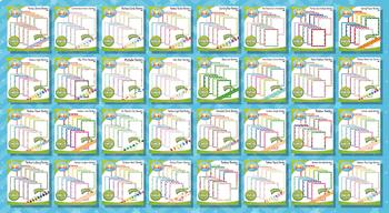 Ultimate Border Series Clipart Bundle {Zip-A-Dee-Doo-Dah Designs}