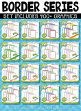 Ultimate Border Series Clipart Bundle {Zip-A-Dee-Doo-Dah Designs}