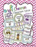 Chevron Classroom Decor