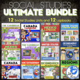 Ultimate Bundle: Regions, Geography, Government, Economics, Canada, Mexico &More