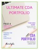 Ultimate CDA Portfolio Guide