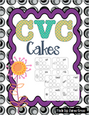 CVC and Word Family Word Work Cakes