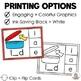 CVC Words Clip Card Activities