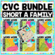 CVC Word Family Word Work and Centers Bundle - Ultimate Edition