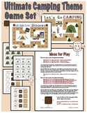 Ultimate Camping Theme Game Board Set -Revised 8/19/13