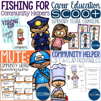 Career Education Resources Bundle for Elementary School Counseling
