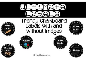 Ultimate Chalkboard Labels