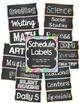 Ultimate Chalkboard Themed Classroom Bundle