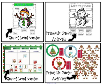 Ultimate Christmas Bundle - SMARTboard and printables!