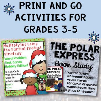 Ultimate Christmas Bundle: Social Studies, Reading, Writing, and Math!