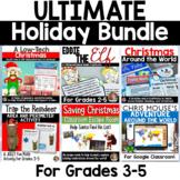 Ultimate Christmas Bundle: Social Studies, Reading, Writing and Math!