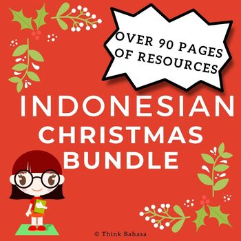 Christmas Bundle Teaching Indonesian Resources | Edisi Natal
