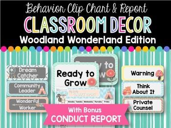 Ultimate Classroom Decor BUNDLE: Woodland Wonderland Edition