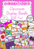 Ultimate Classroom Display Bundle - New South Wales Font