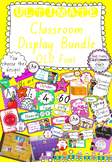 Ultimate Classroom Display Bundle - Queensland Font