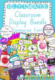 Ultimate Classroom Display Bundle - Tasmanian Font