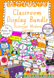 Ultimate Classroom Display Bundle - Victorian Modern Cursive