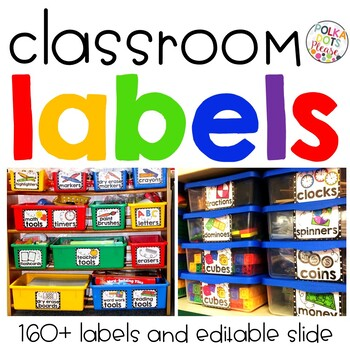 photo about Free Printable Classroom Labels With Pictures called Clroom Labels