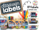 Ultimate Classroom Labels {rustic style}