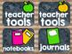Rustic Classroom Supply Labels