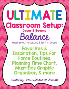 Ultimate Classroom Set Up: Decor & Beyond BALANCE