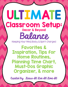 Ultimate Classroom Set Up: Decor & Beyond BALANCE