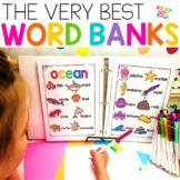 Classroom Word Banks