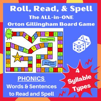 Orton Closed, Open, Vowel team, & Silent e word cards, sentences & games