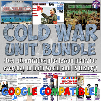Cold War Complete Unit Bundle