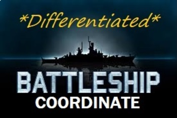Ultimate Coordinate Battleship (Differentiated - 3 Levels)