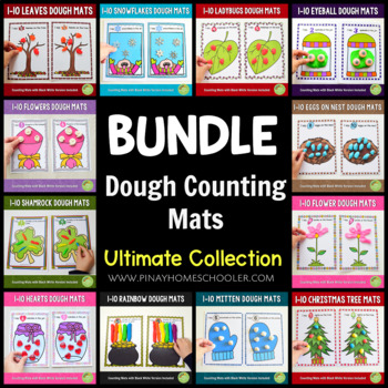 Ultimate Counting Mats (Playdough) Series BUNDLE