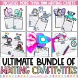 Ultimate Writing Craftivities Bundle