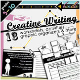 Creative Writing Organizers & Activities Bundle