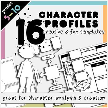 Creative Writing Organizers & Activities Bundle