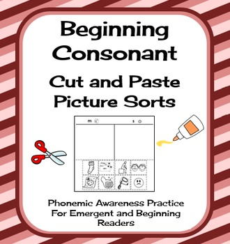 Cut and Paste Ultimate Pictue Sort Collection Phonics/Phonemic Awareness