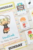Editable Daily Visual Schedule Cards Ultimate Bundle