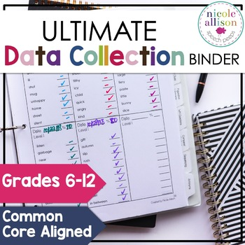 Ultimate Data Collection Binder for Speech and Language 6-12