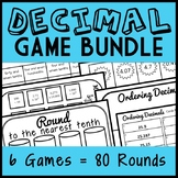 Ultimate Decimal Game Bundle: 80 Number Sorts (Math Centers, Montessori Games)