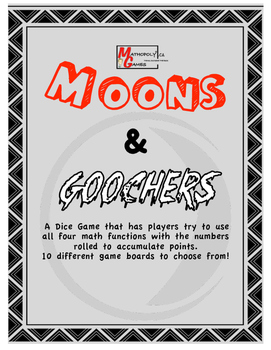 Ultimate Dice Games - Mathopoly Games - Moons n Goochers and More