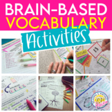Ultimate Differentiated Vocabulary Activities Bundle for A