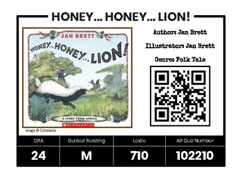 Ultimate Digital Library from QR Codes- EDITABLE!
