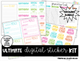 Ultimate Digital Planning Sticker Kit