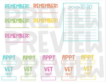 Ultimate Digital Planning Sticker Kit