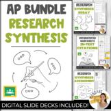 Ultimate Digital RESEARCH SYNTHESIS ESSAY BUNDLE for AP La
