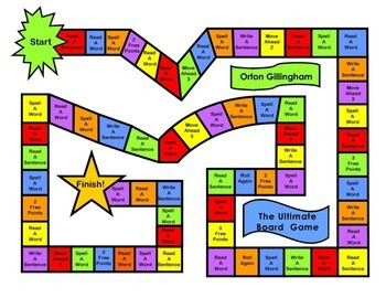 Ultimate Digraphs/ H brothers Orton word cards, sentences and game
