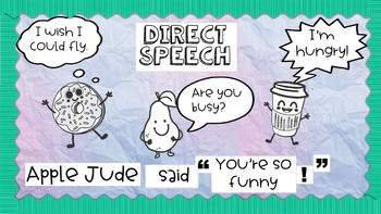 Ultimate Direct and indirect speech bundle